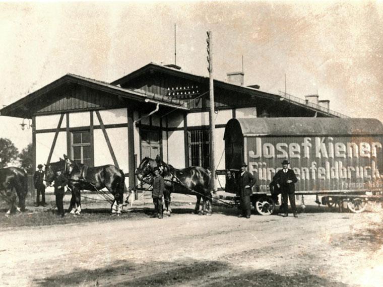Spedition Josef Kiener 1875