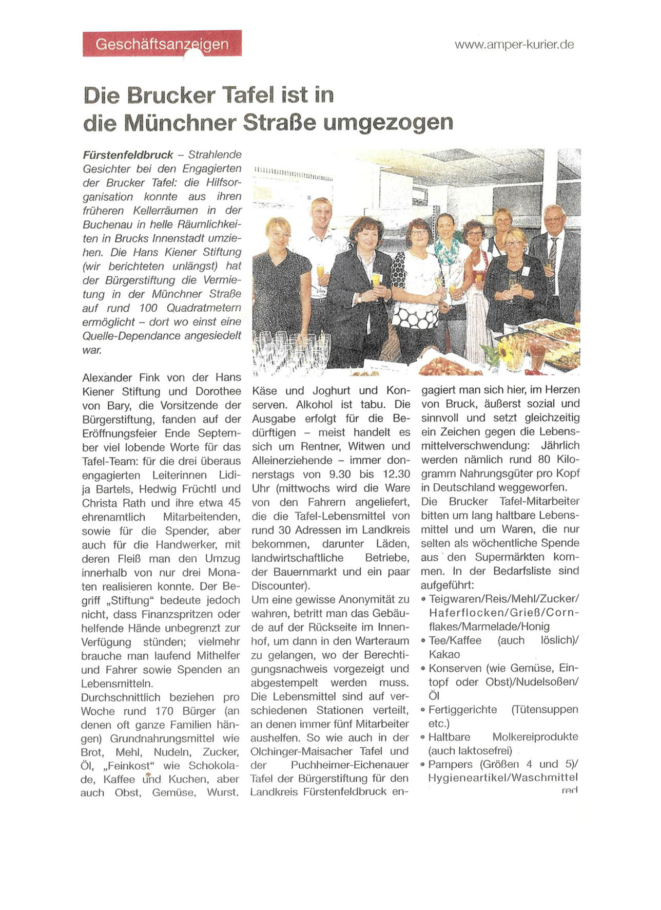 Presse Kiener Stiftung